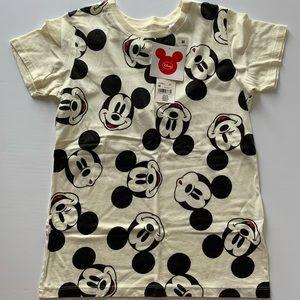 Mickey head uniqlo top